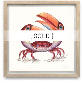 Framed_Original_Tucanogemina_SOLD