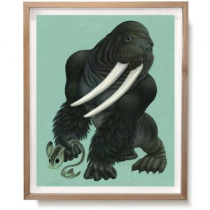 Gorillrus-framed-original